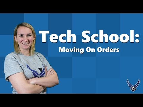 What Does it Mean to Move to My Husband's Tech School On Orders? [Moving to Tech School On Orders]