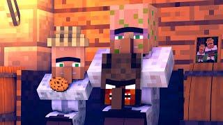Granny vs Villager Life 5 - Granny Horror Game Minecraft Animation