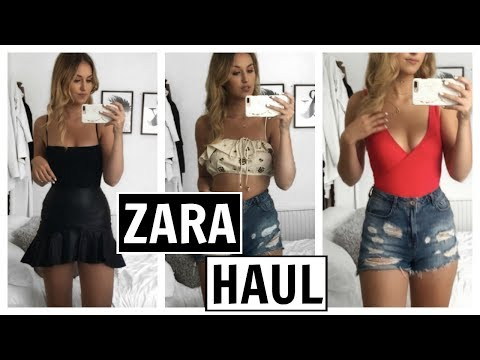 ZARA HAUL - SUMMER JULY 2017 + TRY ON