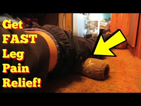 Leg Pain Relief!  How to GET RID of Leg Pain!