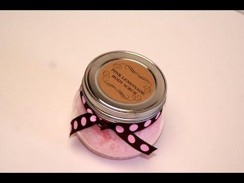 DIY: Pink Lemonade Body Scrub | ShowMeCute