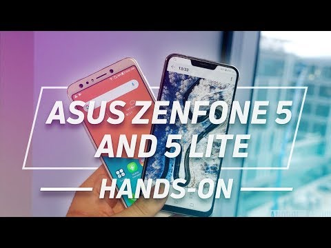 Zenfone 5 and Zenfone 5 Lite Hands-on: Embrace The Notch