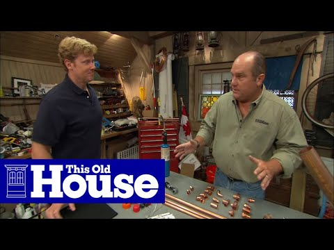 All About Copper Pipe - This Old House