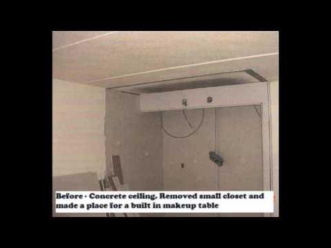 Flattening Concrete Ceilings