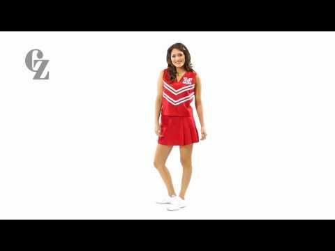 Cheerleader Uniform Top & Skirt | 00410 00420