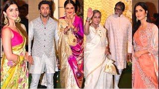 Salman Khan, Amitabh Bachchan, Ranbir,alia, Rekha  join Mukesh &Nita Ambani's Ganpati celebrations
