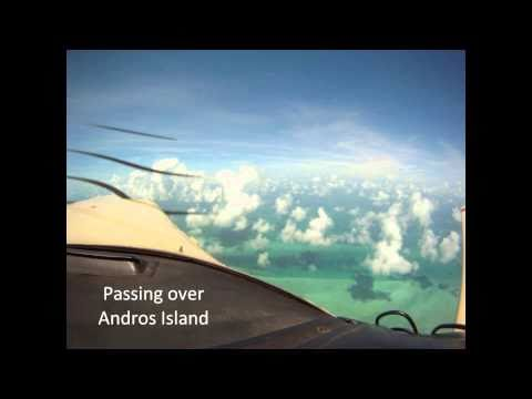 Timelapse of Flying from California to the Bahamas and Back
