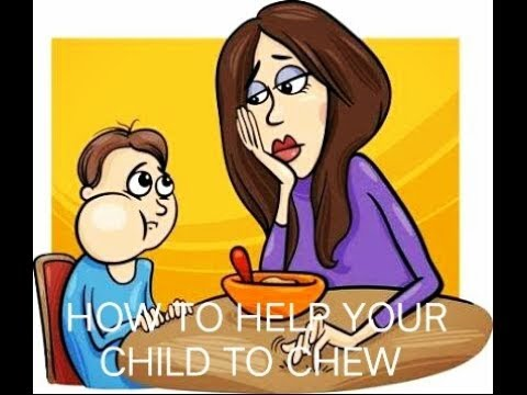 How TO Help/Encourage Your Child To Chew | Superindian Mom (GOOD PARENTING)