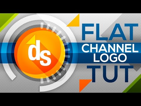 gimp | youtube channel logo template - no photoshop