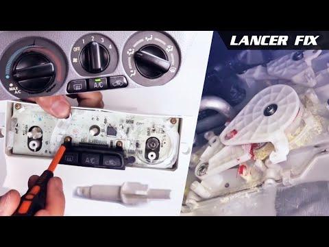 Lancer Fix 31 | AC/Heater Control Shaft Pin, Gears, Knobs [English]