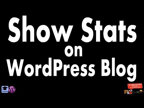 How to Show Stats on WordPress Websites