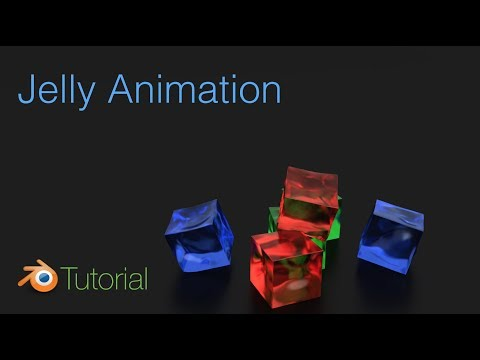 Jelly Animation Tutorial in Blender (Cycles)