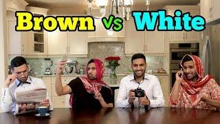 ZaidAliT - Brown vs White - Best Collection Ever - Zaid Ali Brown vs White Funny videos