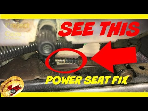 How To Make POWER SEATS Faster & Last a LIFETIME