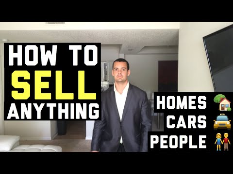 Sales Training Real Estate   Cars   How To Sell Anything To Anybody