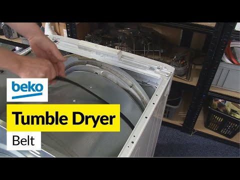 How to Replace the Belt on a Beko Tumble Dryer