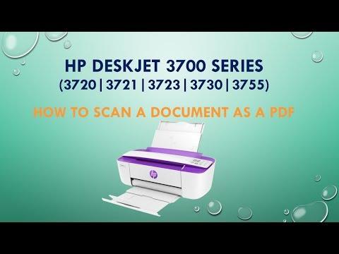 HP Deskjet 3720   3721   3730   3755   Scan a document as a PDF