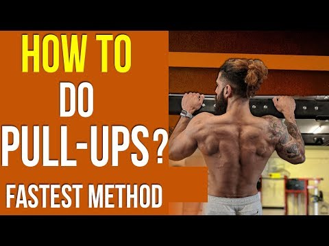HOW TO DO PULL UPS ? (Fastest Way) | Tips to INCREASE PULLUPS for BEGINNERS