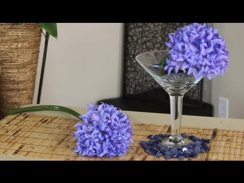 What to Put in a Large, Decorative Martini Glass : Decorating With Glass