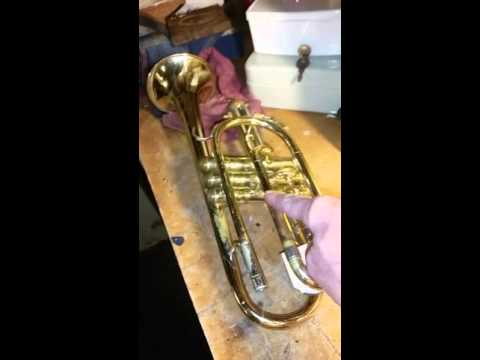 Trumpet Cornet stuck slide removal techniques