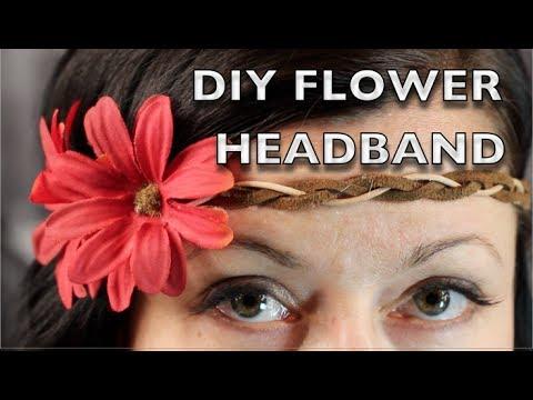 DIY Flower Headband - Bohemian