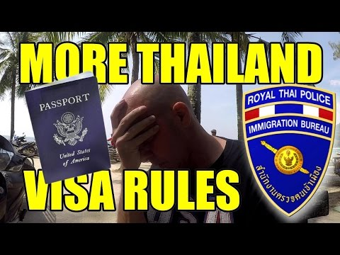 MORE THAILAND VISA RULES V238