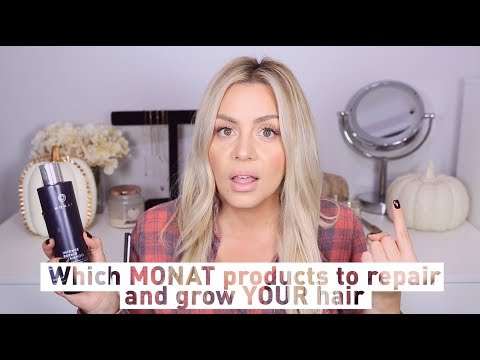 Which Monat Products to Repair and Grow your Hair?