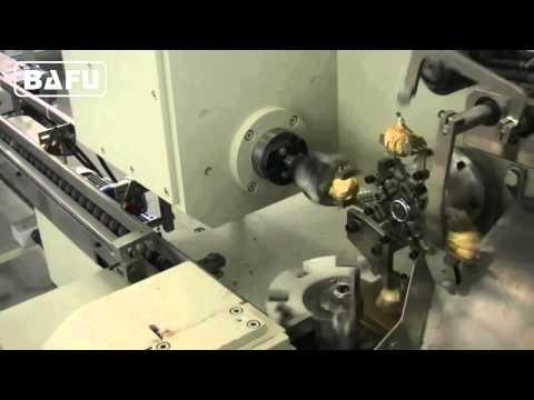 ferrero rocher chocolate wrapping machine, Packaging machine for Ferrero type chocolate