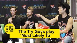 The Try Guys play 'Most Likely To...'