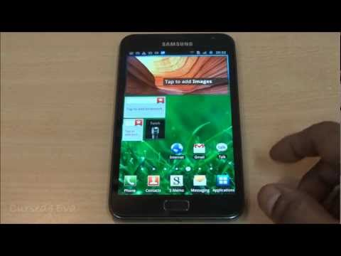 Galaxy Note - ICS 4.0.4 Update - How to Install - Cursed4Eva