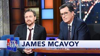 James McAvoy Plays Stephen Colbert's Lightning Round