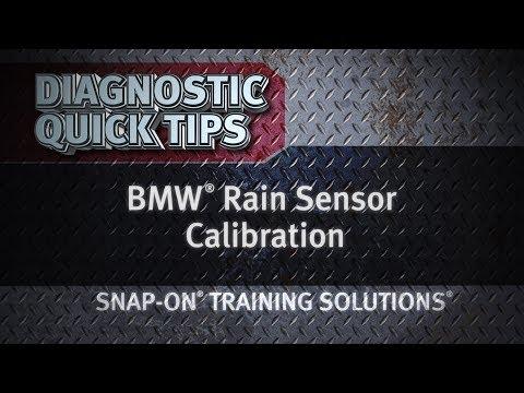 Diagnostic Quick Tips - BMW® Rain Sensor Calibration