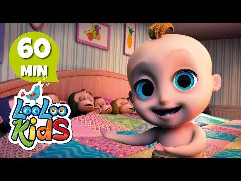 Ten in a Bed - Fun Songs for Children   LooLoo Kids