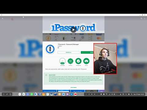 Samsung DeX Apps | 1Password - Password Manager (Black screen caused due to DeX Security)