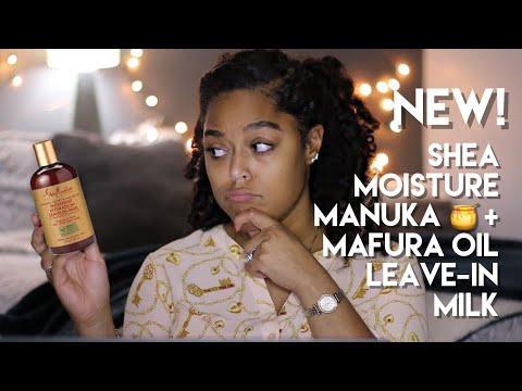 NEW! SHEA MOISTURE MANUKA HONEY & MAFURA OIL LEAVE IN MILK | Demo + Review | Danielle Renée