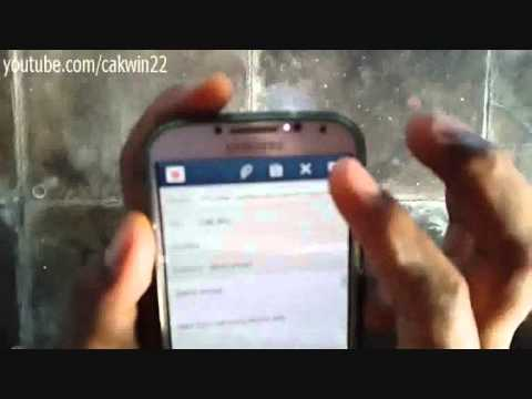 Samsung Galaxy S4: Send Email