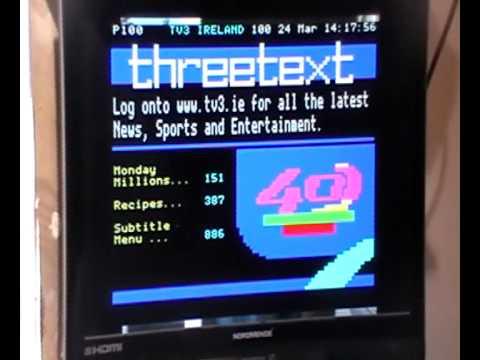 Xoro 8010 Digital TV Receiver - Teletext