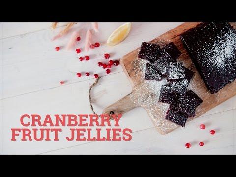 Cranberry fruit jellies [BA Recipes]