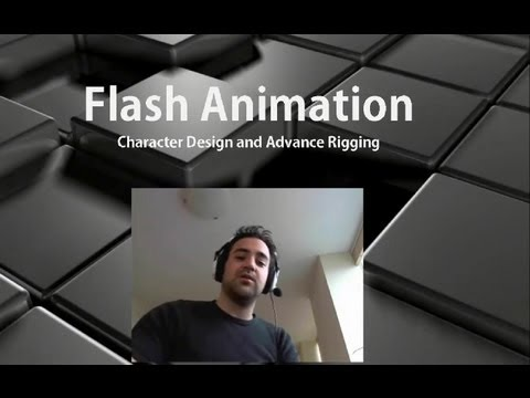 Flash Animation Tutorial - Character Design and Advance Character Rigging