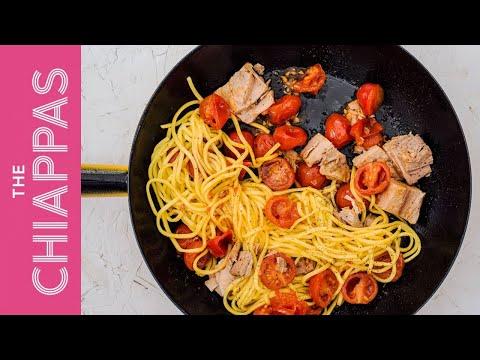 Tuna & Tomato | Quick Spaghetti Pasta Sauce