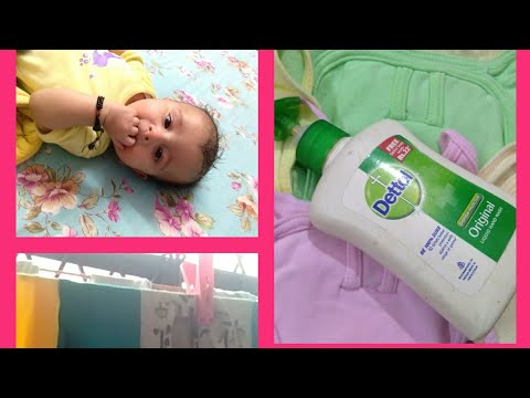 POOP STAINS REMOVING METHOD||BABY CLOTHES STAIN PROOF WASHING|HOW TO WASH BABY CLOTHES WITH HANDS..
