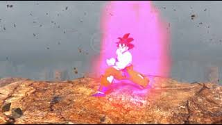Dragon Ball z Goku vs Vegeta 360