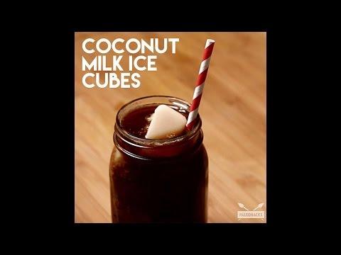 Coconut Milk Ice Cubes | Paleo Recipe