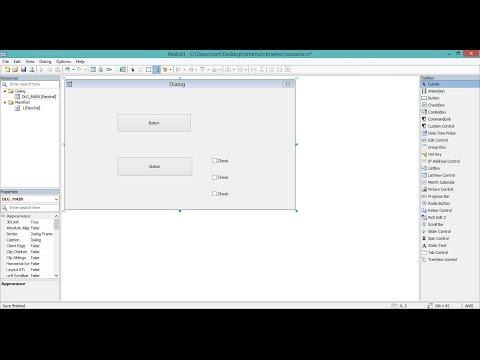 CodeBlocks Win32 GUI Editor (resource editor)