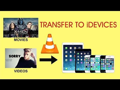 VLC Player (Transfer videos, movies from pc to iphone, ipad , ipod)