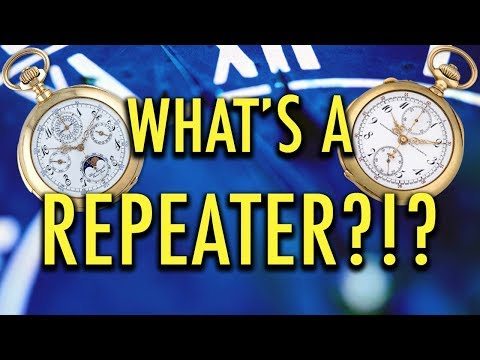 Repeater Watches: Grand Sonnerie and Minute Repeater Repair