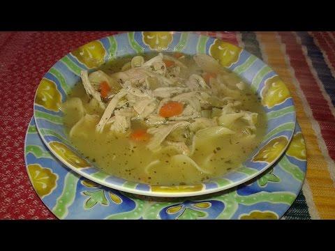 SOPA  -CHICKEN NOODLE -SOUP