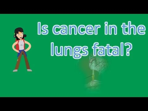 Is cancer in the lungs fatal ? |Find Health Questions | Best Health TIPS