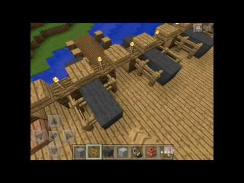 Minecraft Creative Mode: Learn to build a pirate ship Part 2
