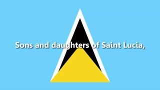 St. Lucia - National Anthem - Sons and Daughters of St. Lucia (ACAPPELLA VERSION)